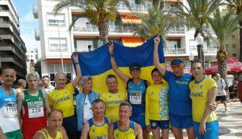Досягнення українців на Чемпіонаті Європи з позастадіонних видів у категорії Мастерс