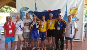 Результати виступу легкоатлетів у Турині 26 липня- 4 серпня 2019