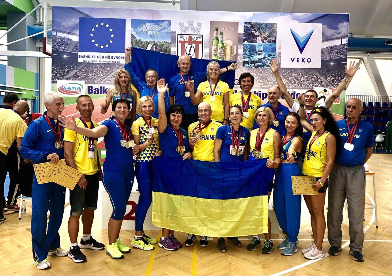 Balkan Masters Athletics Championships 17-19 September 2021